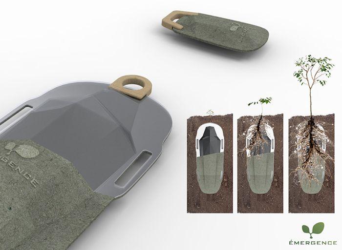 emergencia funerales de diseño entierro ecologico arbol degradable enzo pascual pierre riviere design for death
