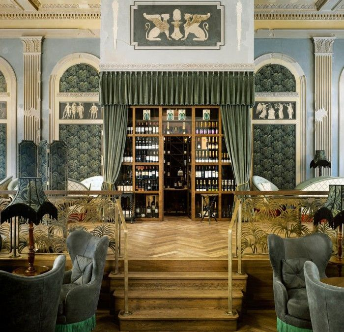 Restaurante Razzia en Zurich, de cine belle époque a templo culinario de diseño
