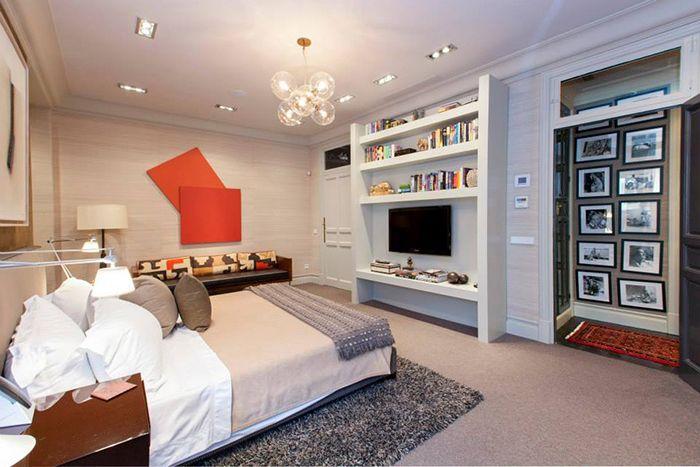 dormitorio y pasillo