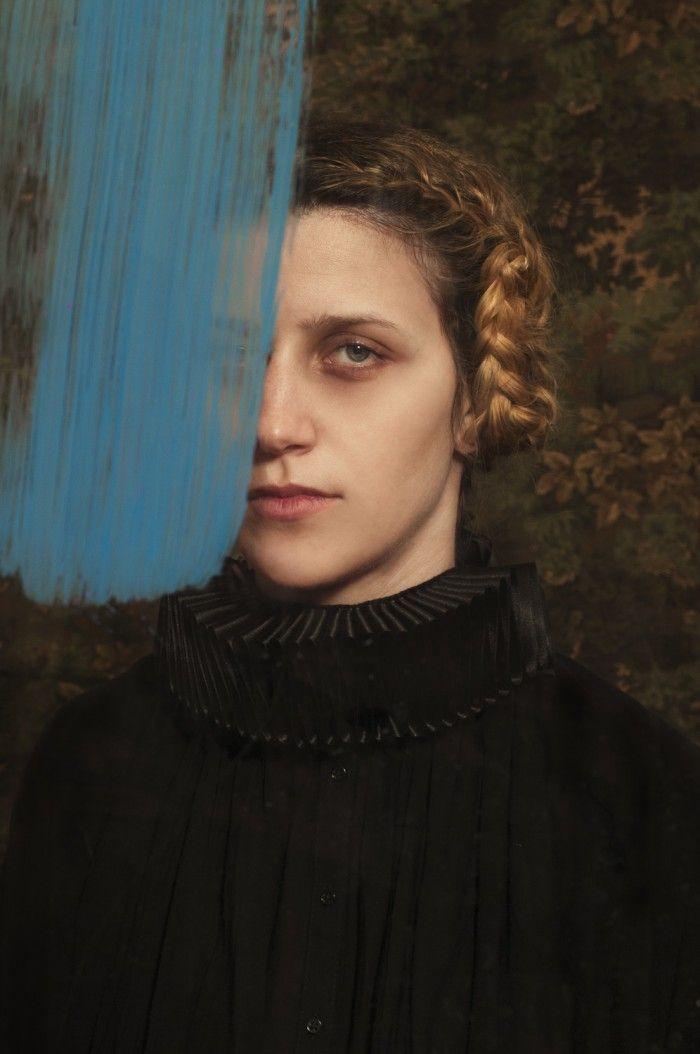 fotografia pintura azul renacentista fotografa argentina romina ressia foto que parece un cuadro pictorica