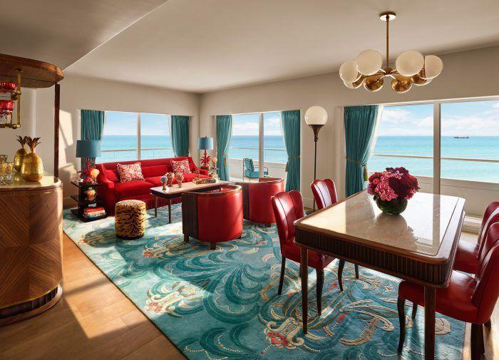 faena miami beach hotel decorado por baz luhrmann habitacion suite 3