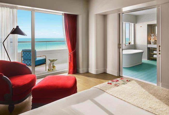 faena miami beach hotel decorado por baz luhrmann habitacion suite