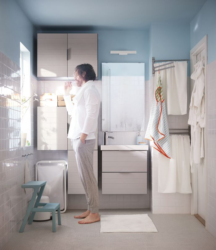 baño blanco catalogo ikea 2017