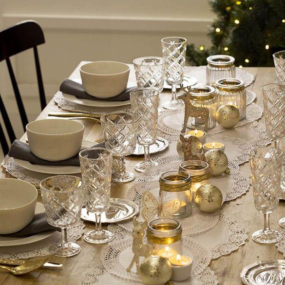 decoracion mesa romantica