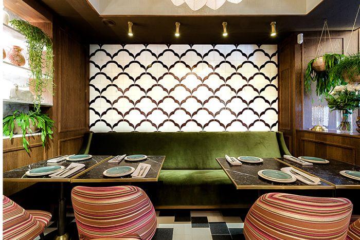 Detalle rincon restaurante hindu madrid