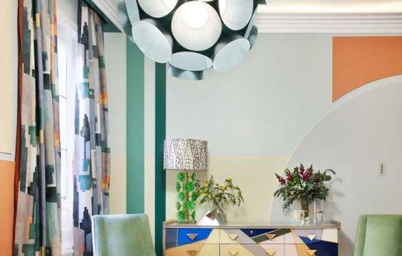 Comedor de AS Interioristas y Alfaro Arquitectura