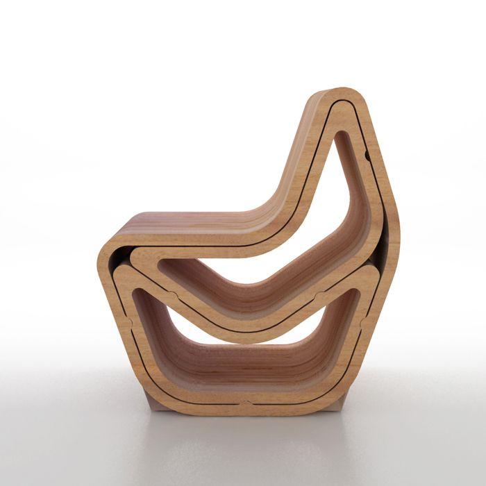 silla diseño modelo balanced chairs everywhere