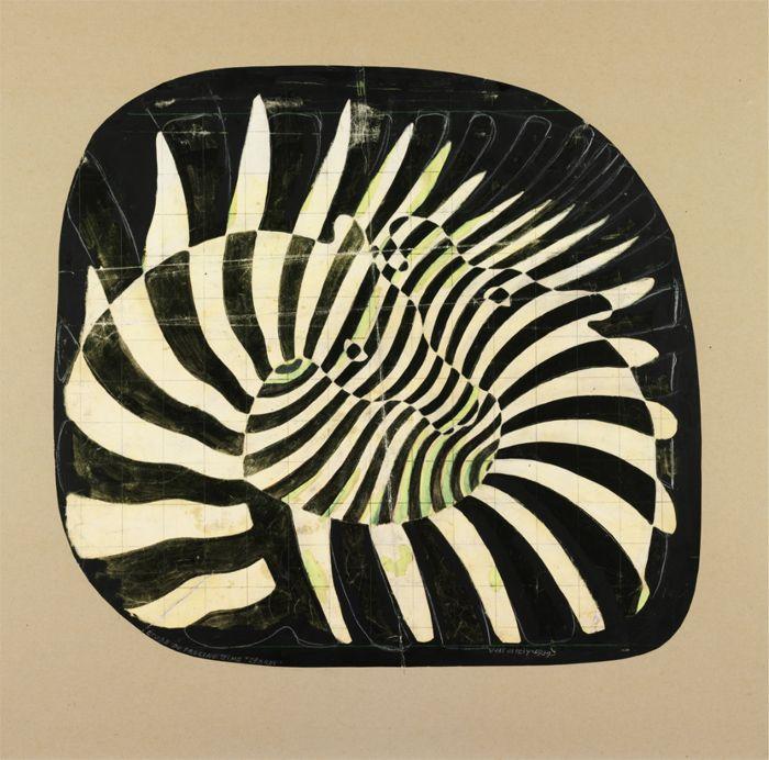 obras op art Vasarely