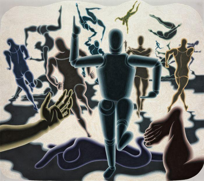 obra Vasarely op art
