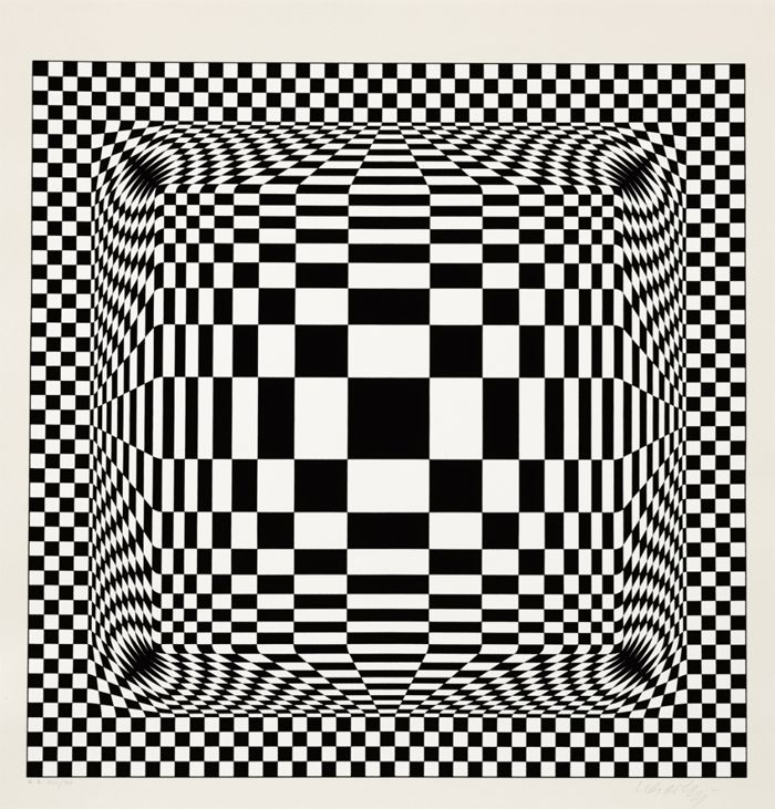 Vasarely obras op art