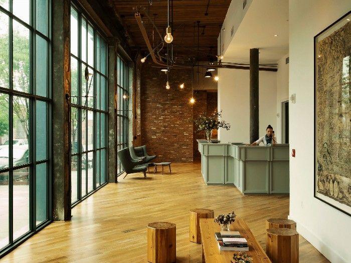 hotel de estilo industrial