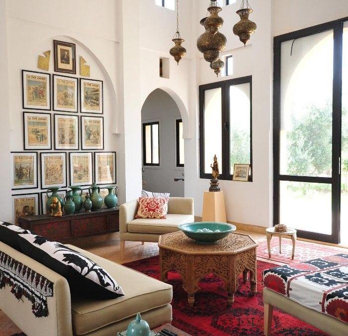 Decoración árabe, calidez y colorido en tu hogar