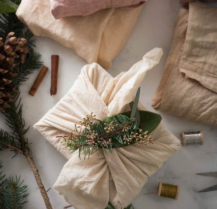 Envoltorios para regalo Zero Waste estas Navidades