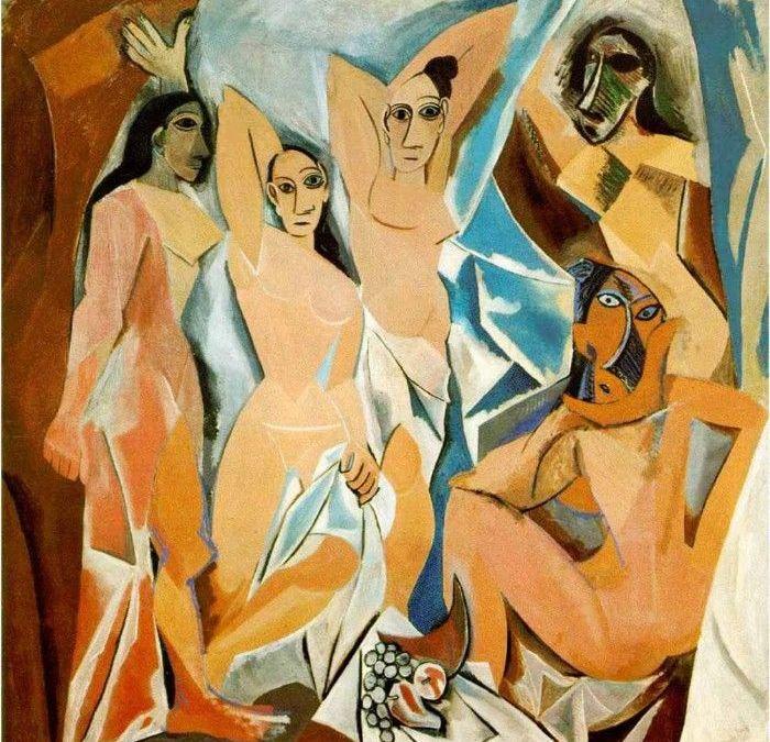 Cubismo, geometría y fragmentación en el arte a principios del XX