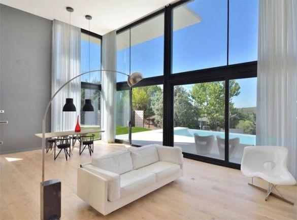 interior vivienda prefabricada