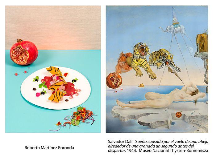 tigres de dali interpretación gastronomica