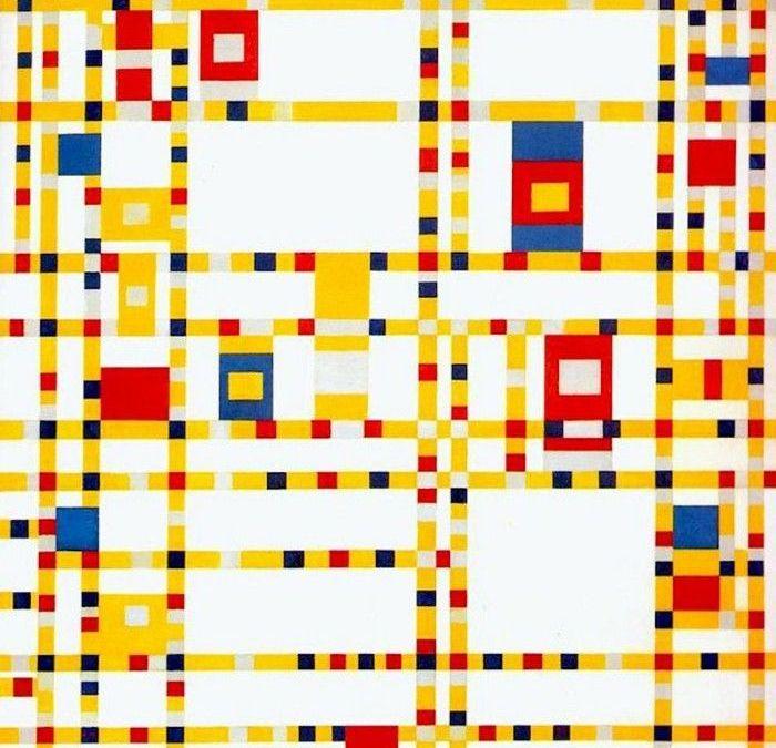 Piet Mondrian, el maestro de la línea y el ángulo recto