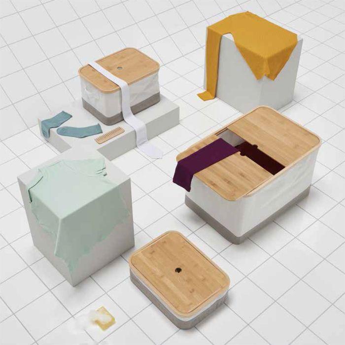 cajas tapas bambu