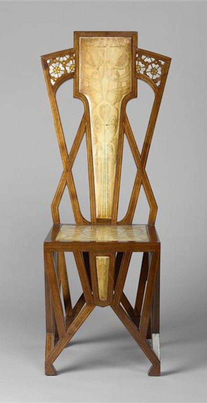 silla art nouveau