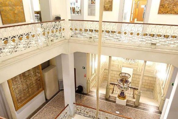 hall museo nacional de artes decorativas