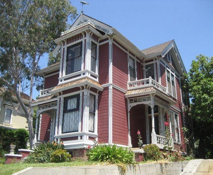 casa arquitectura victoriana EEUU