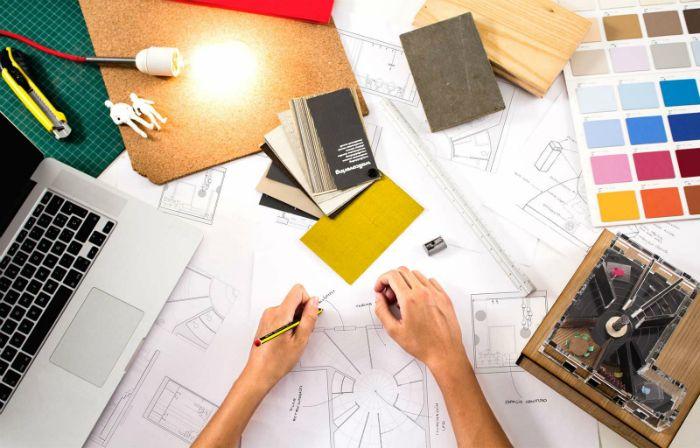 plano diseño interiores