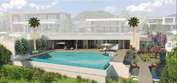 diseño de paisajes vivienda lujo