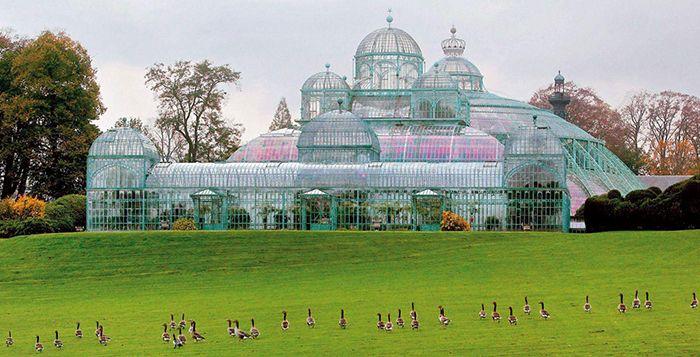 Construccion hierro jardines botanicos victor horta