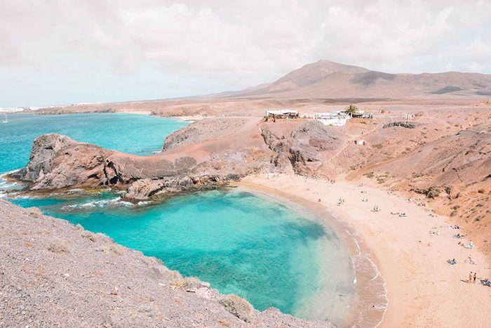 playas paradisiacas lanzarote