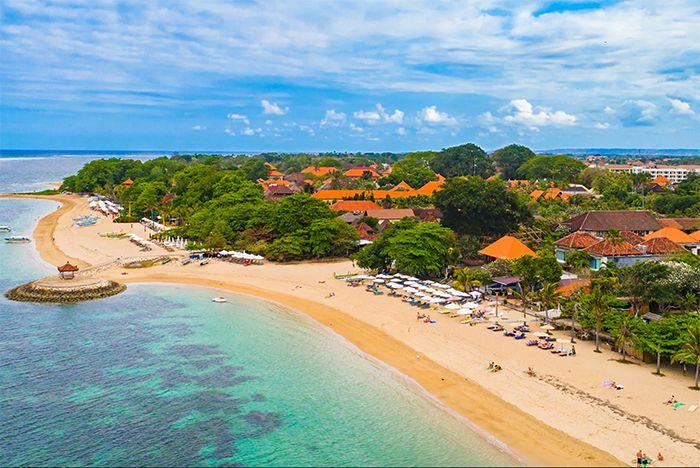 Viajar a Bali un mes comenzando por Sanur