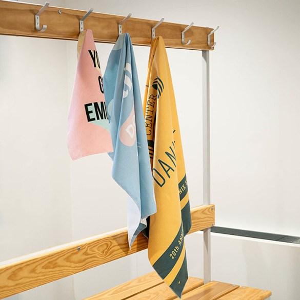 toalla gimnasio microfibra personalizada