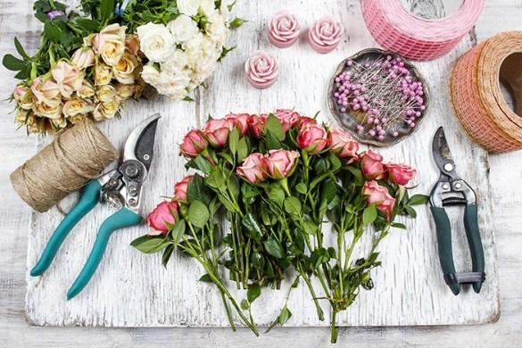 mesa florista