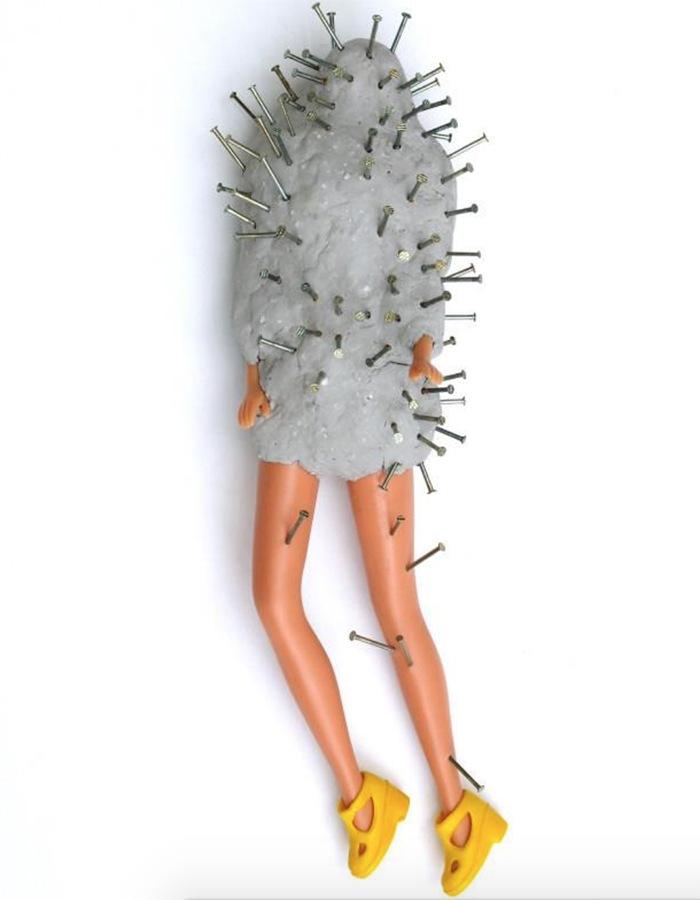 barbie muñeca hormigon budu