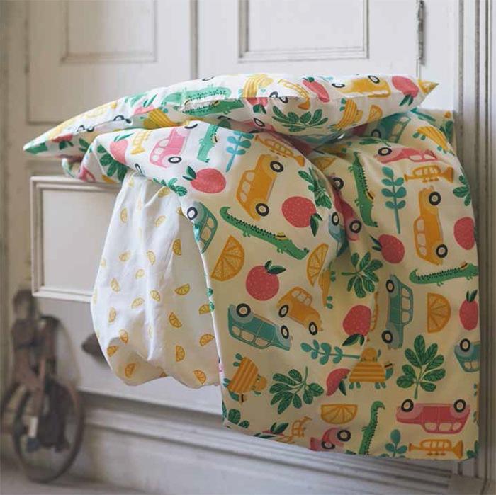 ropa de cuna bebe ilustraciones IKEA