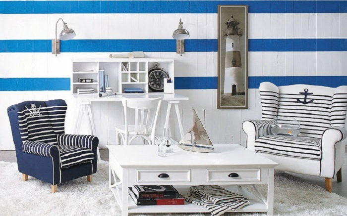 Decoracion navy