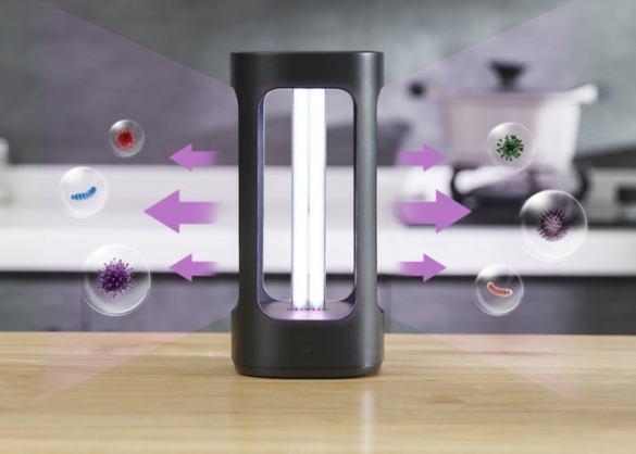detectora virus y limpieza aire