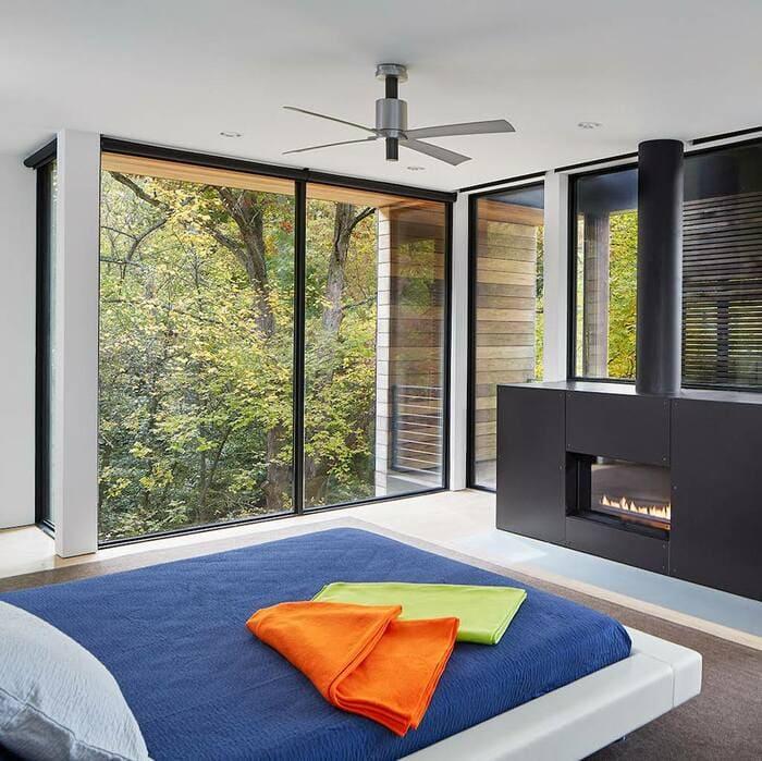 ventiladores de techo de diseño pensi modern fan