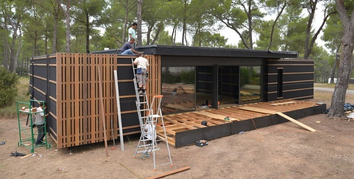 tiny houses autoconstruida