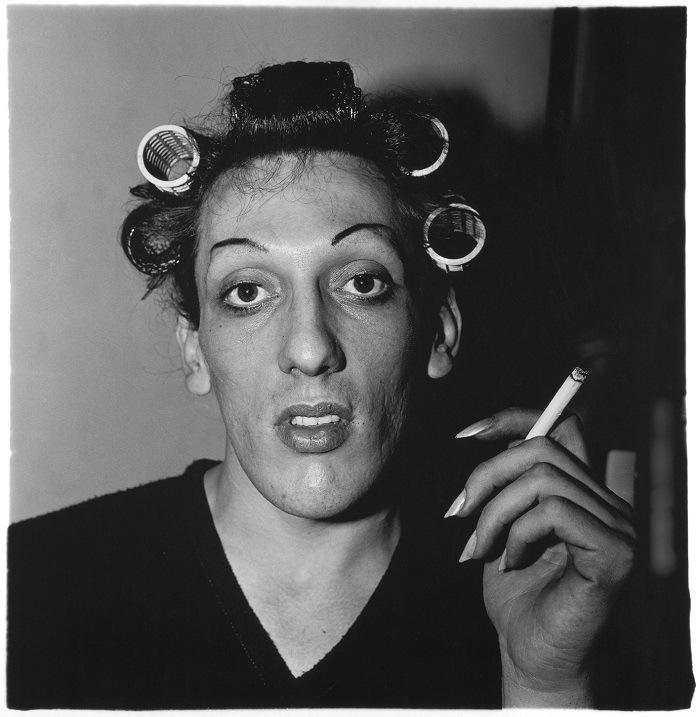 Diane Arbus retrato trans