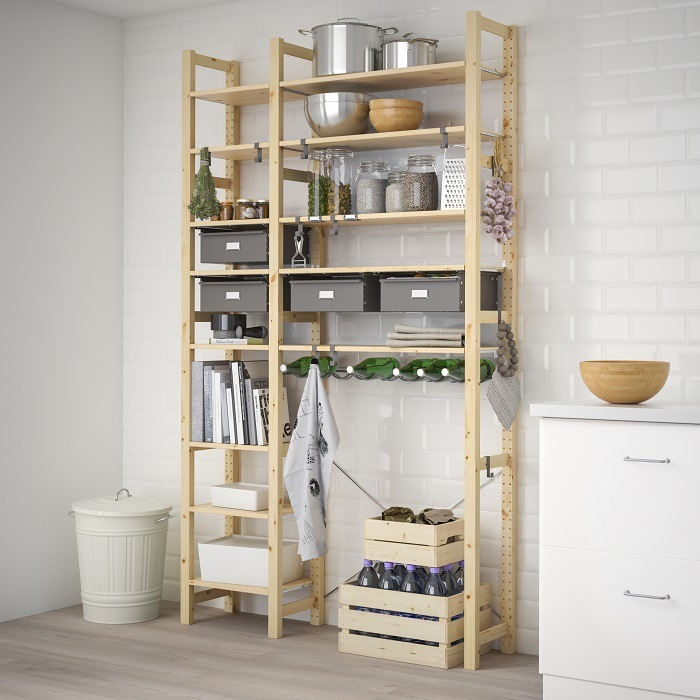 ideas para organizar tu despensa estanteria ikea despensa