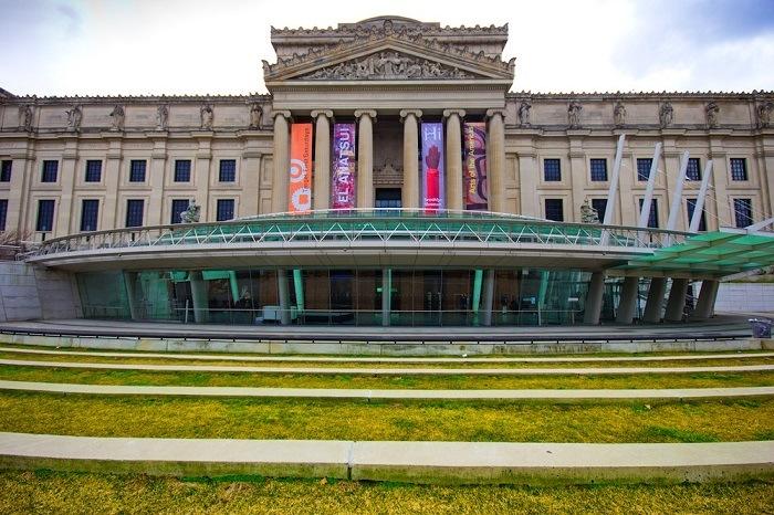 El Brooklyn Museum situado en de Nueva York