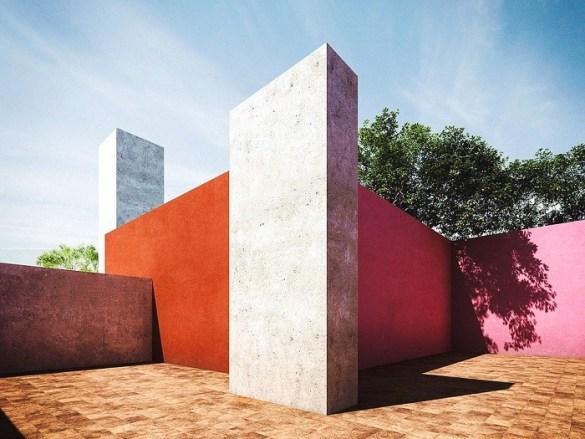 arquitectura moderna de Luis barragan