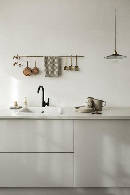 objetos a la vista en cocinas