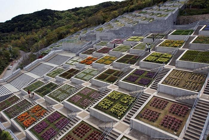 Jardin vanguardia arquitectónica de japón