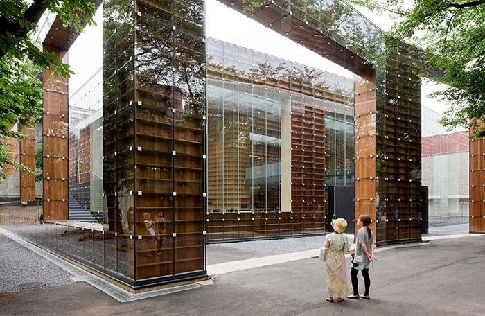 biblioteca arquitectura japonesa