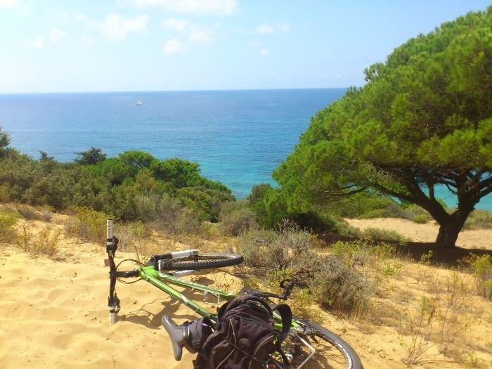 Rodeado de Naturaleza en bici