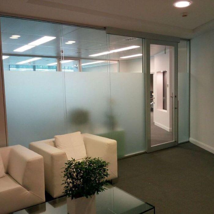 mampara de oficina tipo Concept