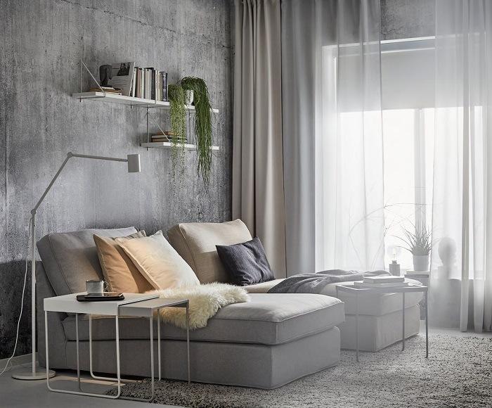 Chaiselonge en Salón IKEA 2021