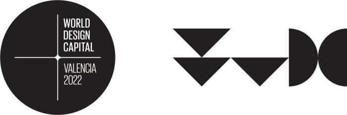 Logo Valencia Capital Mundial Diseño 2022
