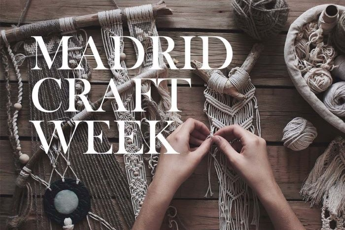 Madrid Craft Week 2020